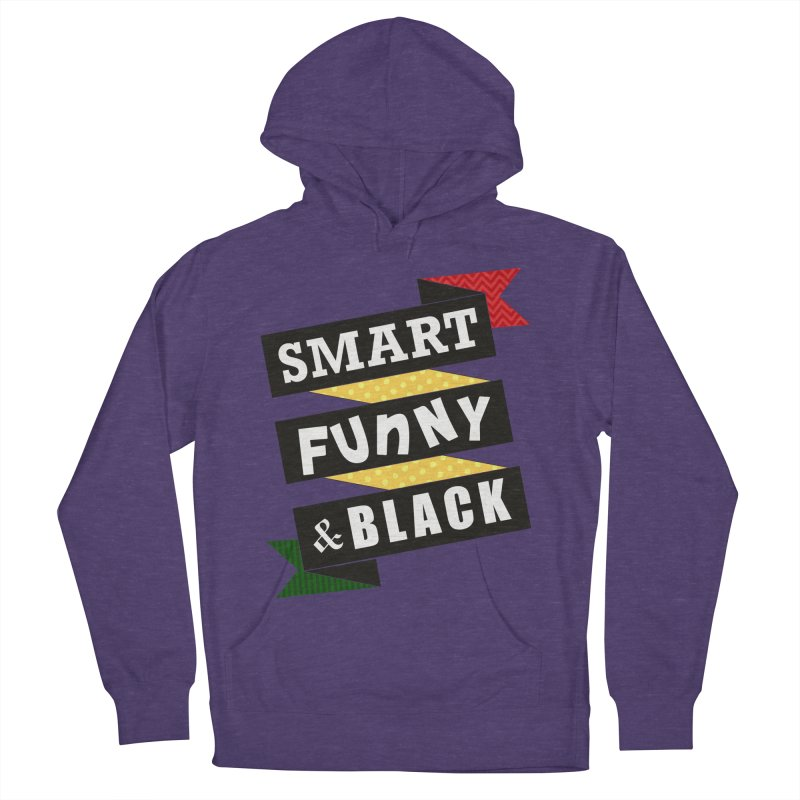 Smart Funny & Black Women's French Terry Pullover Hoody by amandaseales's Artist Shop