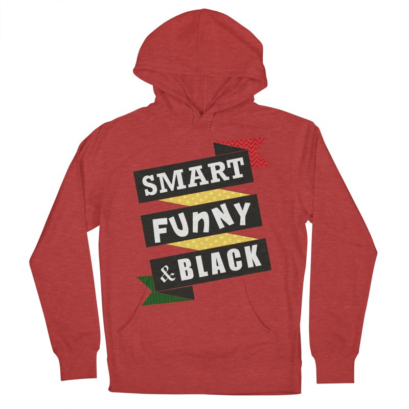 Smart Funny & Black Men's French Terry Pullover Hoody by Amanda Seales