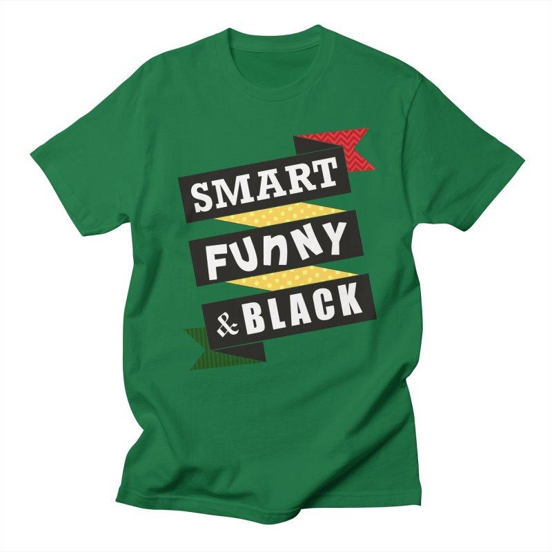 Smart Funny & Black Women's Unisex T-Shirt by amandaseales's Artist Shop