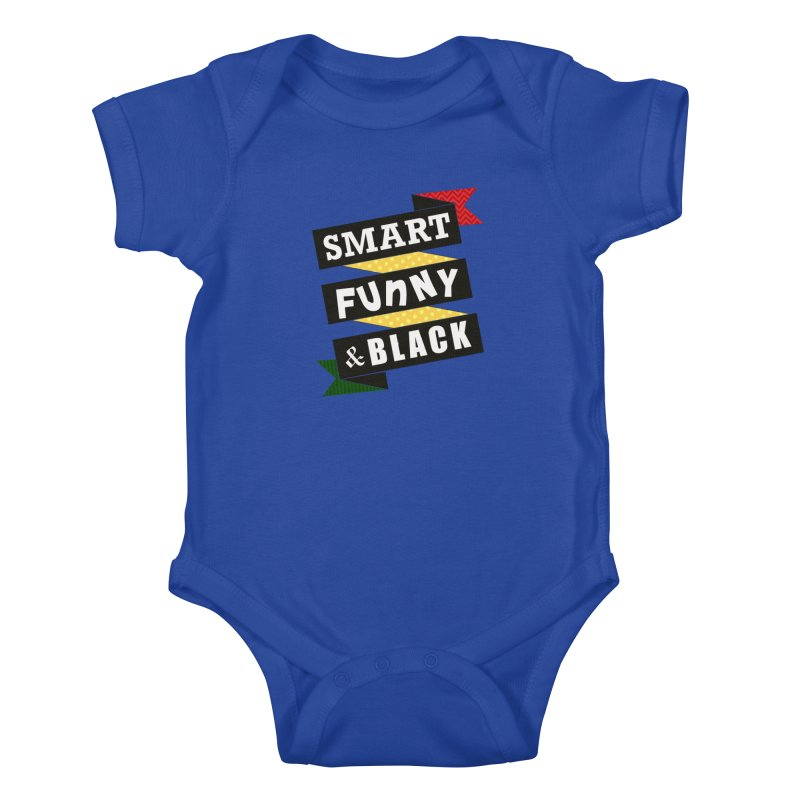 Smart Funny & Black Kids Baby Bodysuit by Amanda Seales