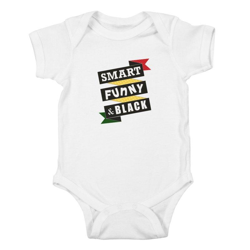 Smart Funny & Black Kids Baby Bodysuit by amandaseales's Artist Shop