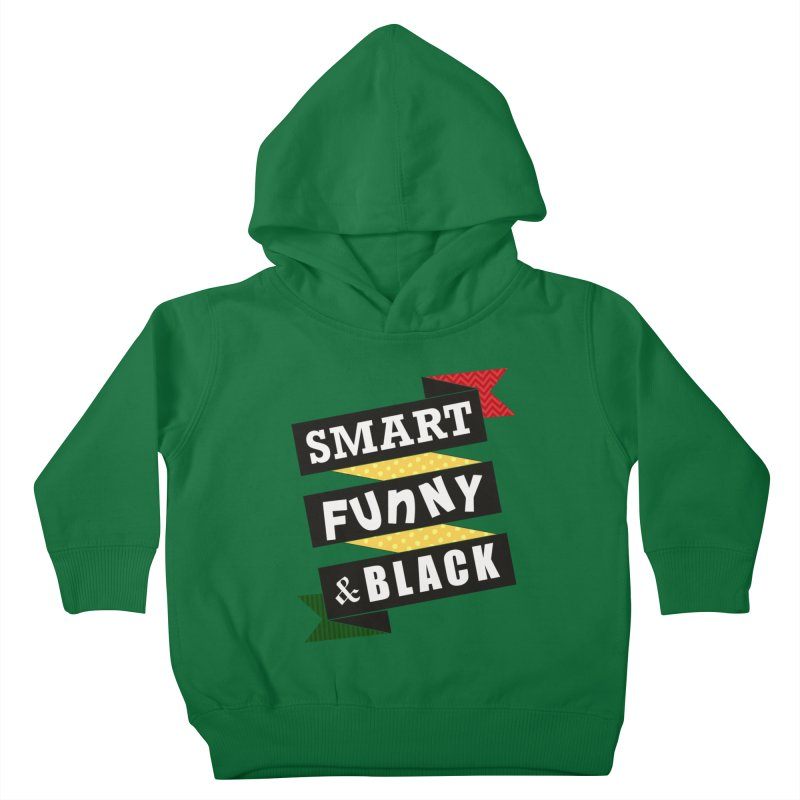 Smart Funny & Black Kids Toddler Pullover Hoody by amandaseales's Artist Shop