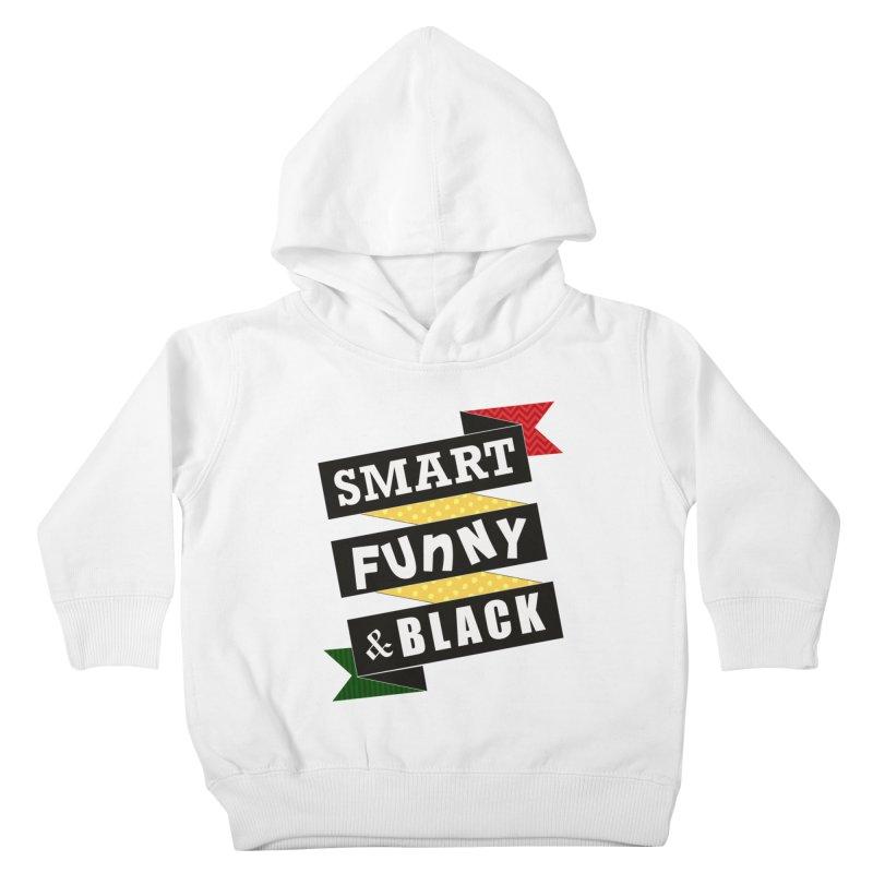 Smart Funny & Black Kids Toddler Pullover Hoody by amandaseales's Artist Shop