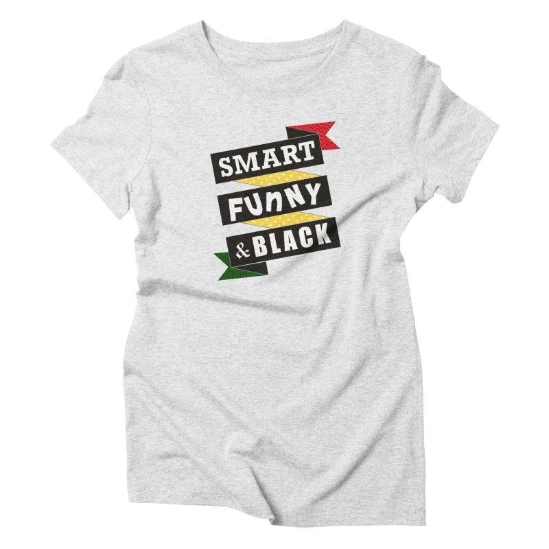Smart Funny & Black Women's T-Shirt by Amanda Seales