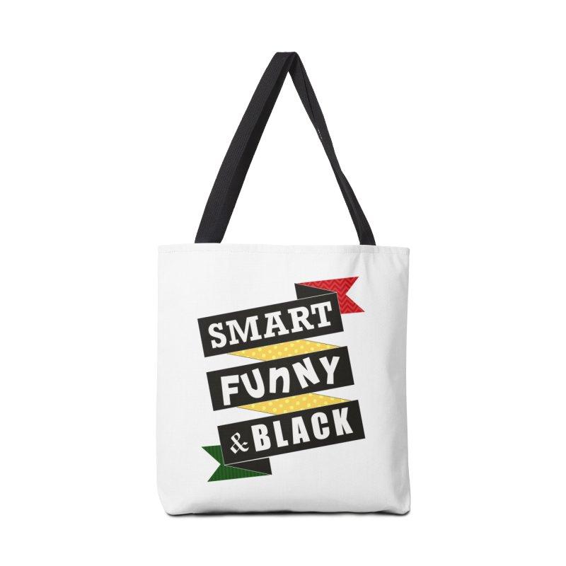 Smart Funny & Black Accessories Bag by amandaseales's Artist Shop