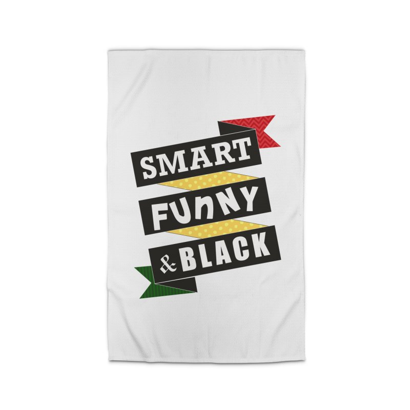 Smart Funny & Black Home Rug by Amanda Seales