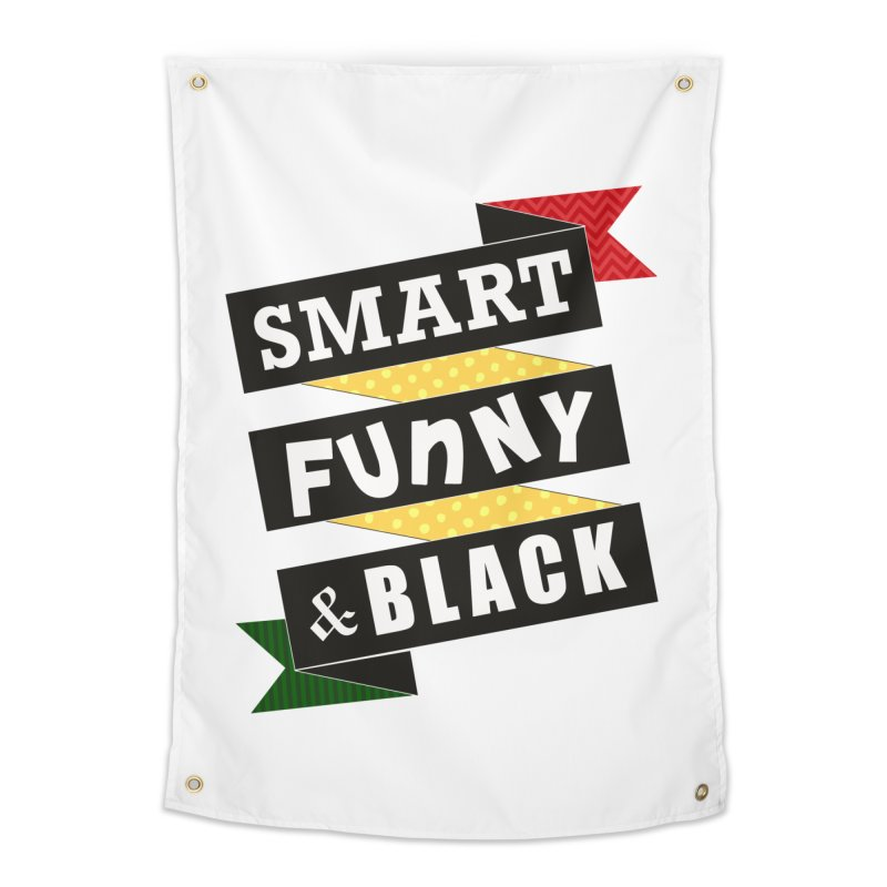 Smart Funny & Black Home Tapestry by amandaseales's Artist Shop