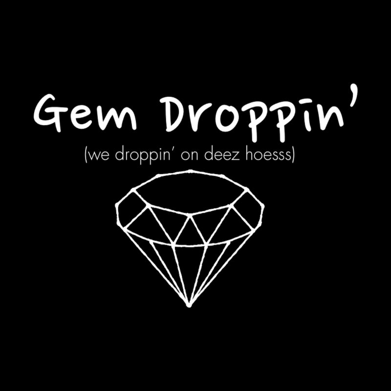 Gem Droppin Men's Tank by Amanda Seales