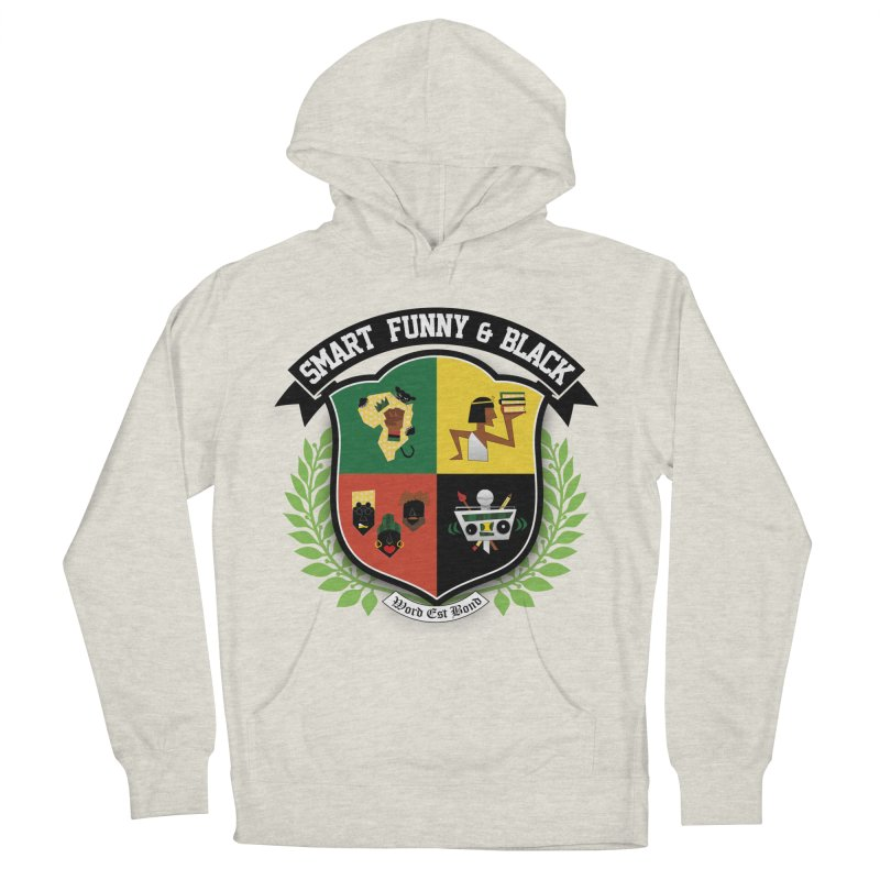 SFB Crest (Black Ink) Women's Pullover Hoody by amandaseales's Artist Shop