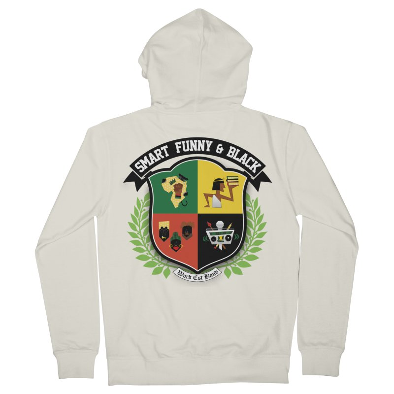 SFB Crest (Black Ink) Women's Zip-Up Hoody by amandaseales's Artist Shop