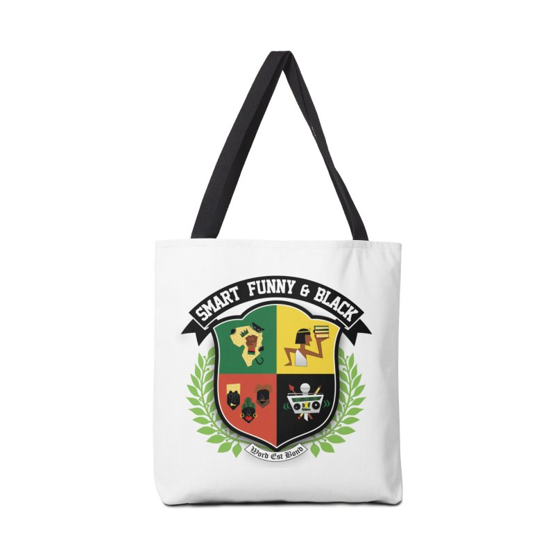 SFB Crest (Black Ink) Accessories Bag by Amanda Seales