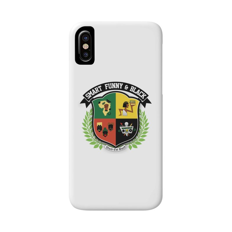 SFB Crest (Black Ink) Accessories Phone Case by Amanda Seales