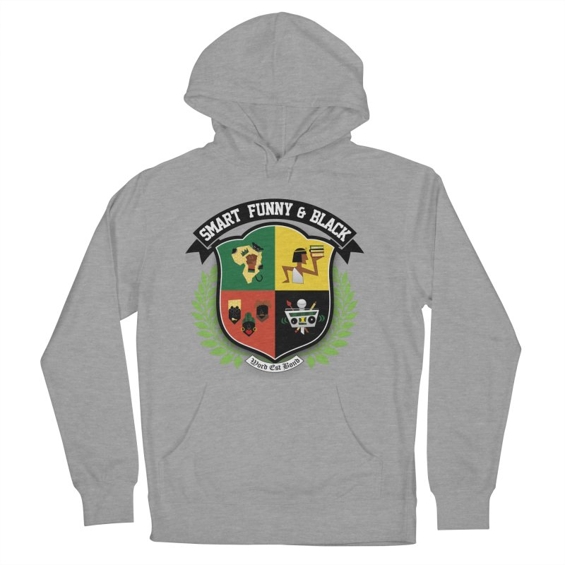 SFB Crest (Black Ink) Women's Pullover Hoody by Amanda Seales