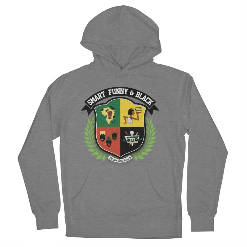 SFB Crest (Black Ink) Men's French Terry Pullover Hoody by Amanda Seales