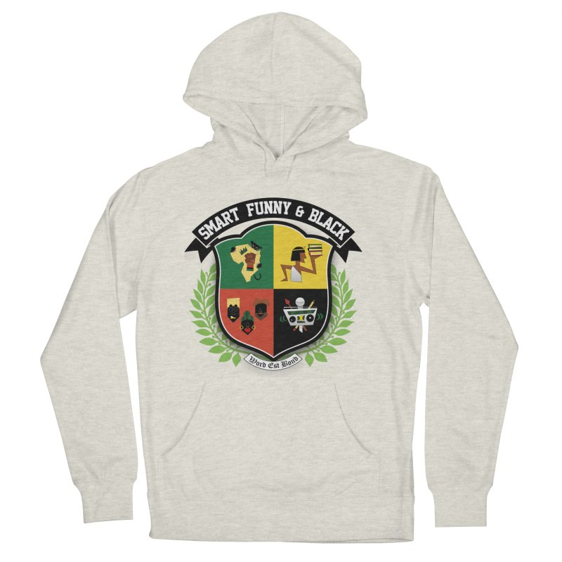 SFB Crest (Black Ink) Men's French Terry Pullover Hoody by amandaseales's Artist Shop