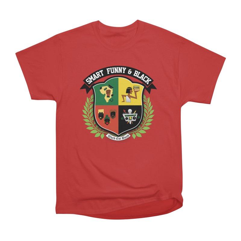 SFB Crest (Black Ink) Women's Heavyweight Unisex T-Shirt by amandaseales's Artist Shop