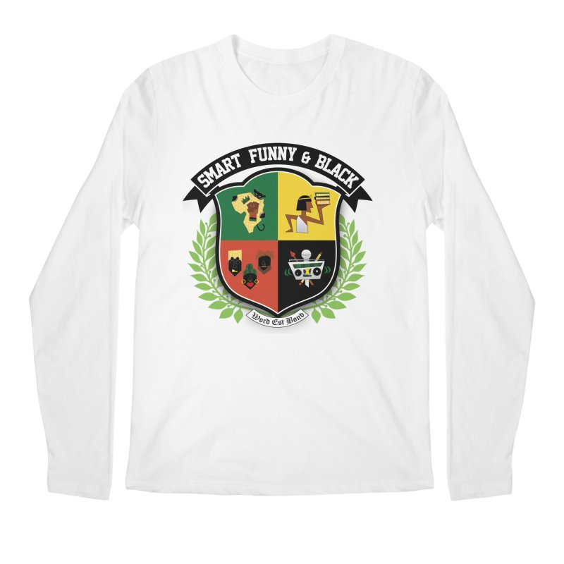 SFB Crest (Black Ink) Men's Regular Longsleeve T-Shirt by amandaseales's Artist Shop