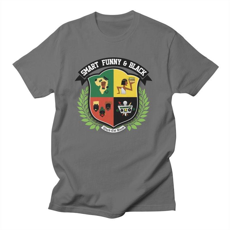 SFB Crest (Black Ink) Men's Regular T-Shirt by amandaseales's Artist Shop