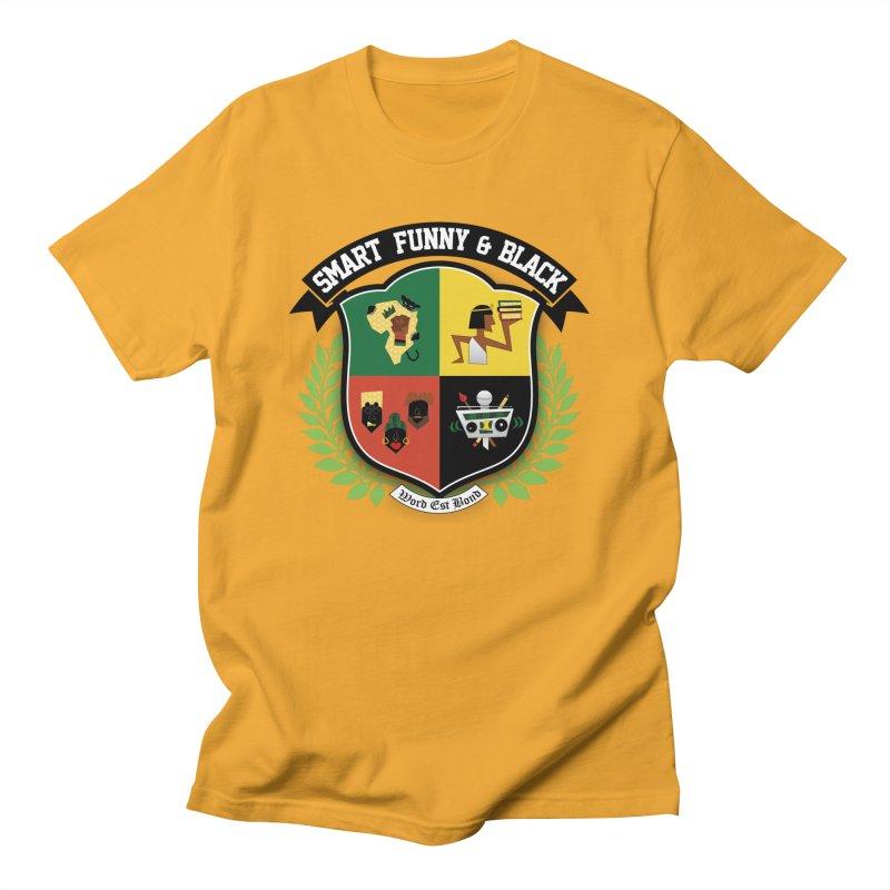 SFB Crest (Black Ink) Women's Regular Unisex T-Shirt by amandaseales's Artist Shop