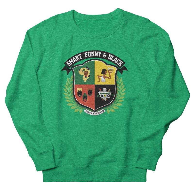 SFB Crest (Black Ink) Women's French Terry Sweatshirt by amandaseales's Artist Shop