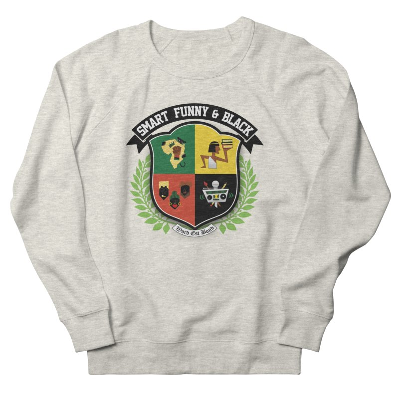 SFB Crest (Black Ink) Women's French Terry Sweatshirt by amandaseales's Artist Shop