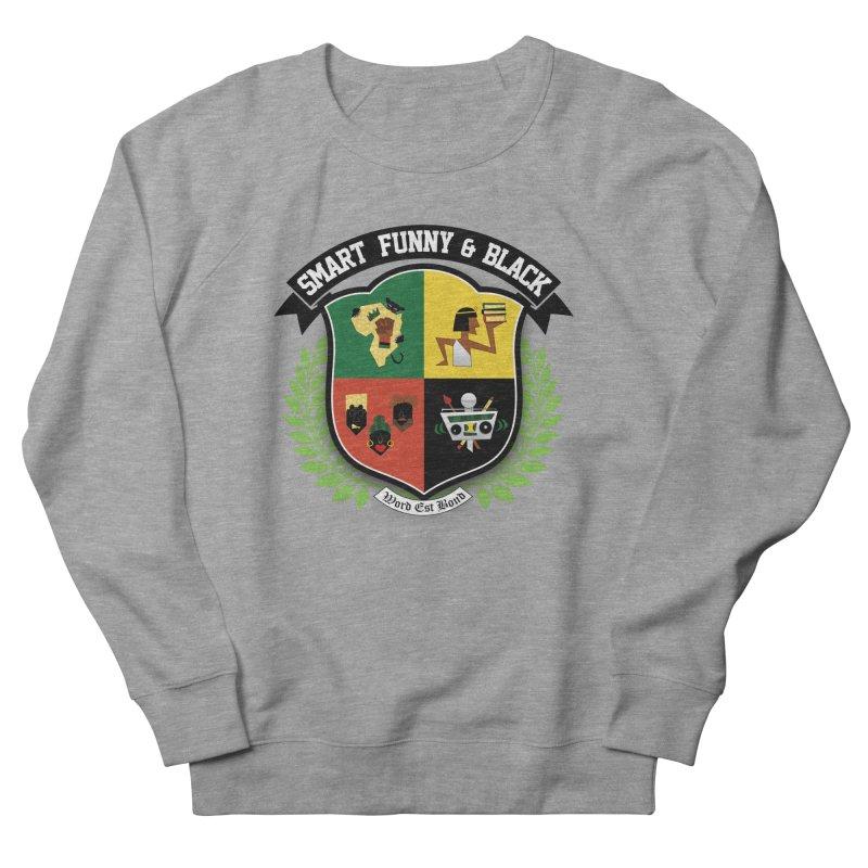 SFB Crest (Black Ink) Men's French Terry Sweatshirt by amandaseales's Artist Shop