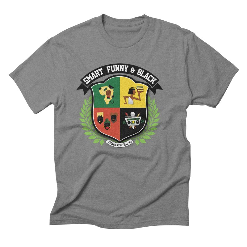 SFB Crest (Black Ink) Men's Triblend T-Shirt by amandaseales's Artist Shop
