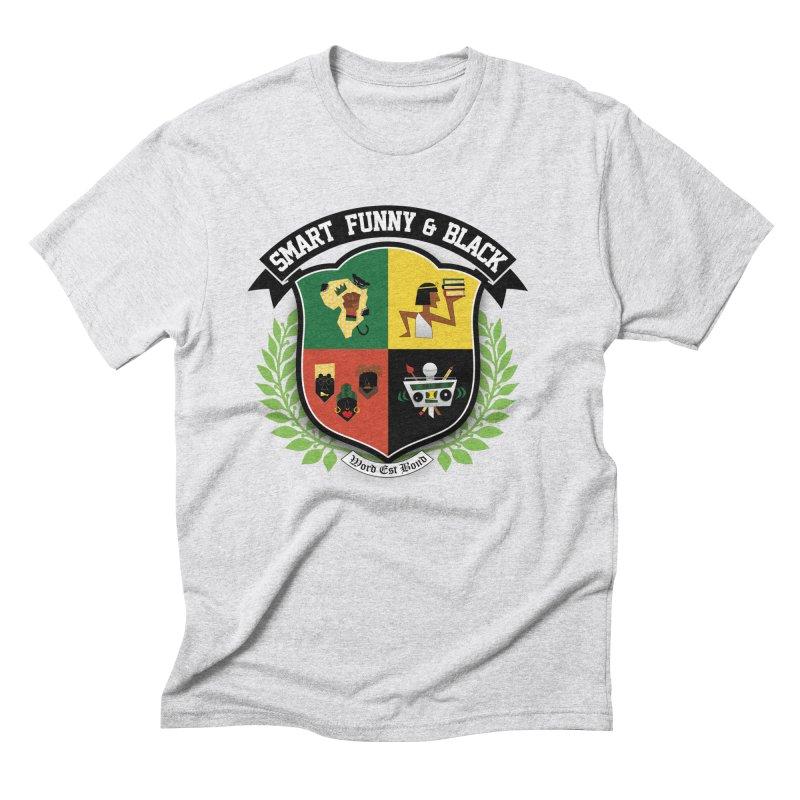 SFB Crest (Black Ink) Men's Triblend T-Shirt by amandaseales's Artist Shop