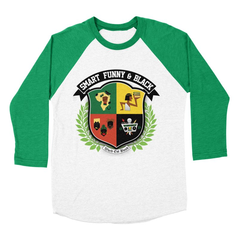 SFB Crest (Black Ink) Men's Baseball Triblend Longsleeve T-Shirt by amandaseales's Artist Shop