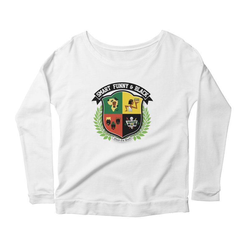 SFB Crest (Black Ink) Women's Longsleeve T-Shirt by Amanda Seales