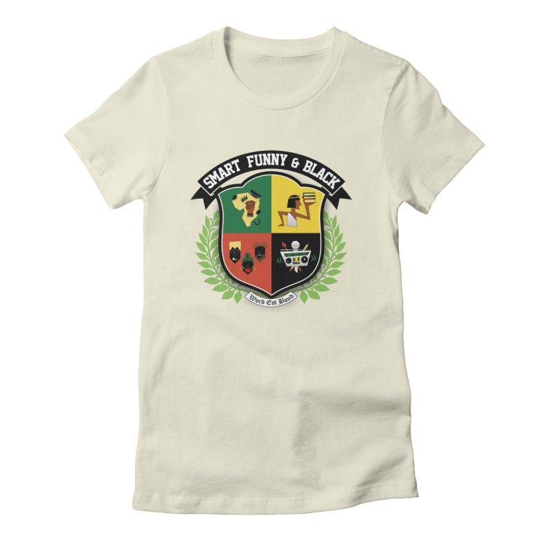 SFB Crest (Black Ink) Women's T-Shirt by Amanda Seales