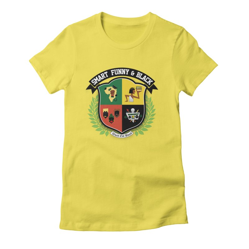 SFB Crest (Black Ink) Women's T-Shirt by amandaseales's Artist Shop