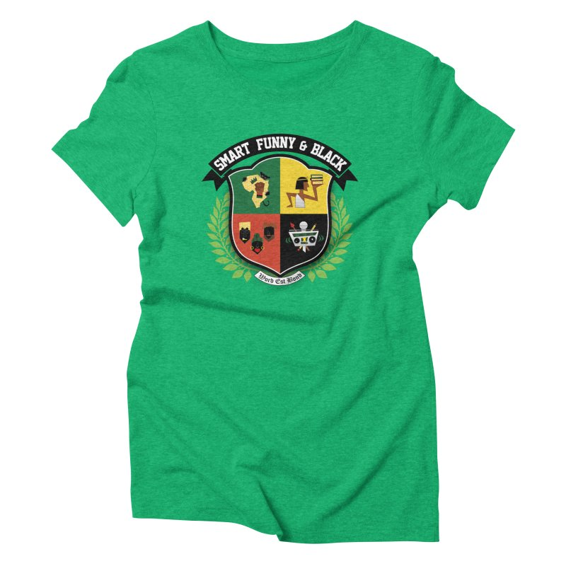 SFB Crest (Black Ink) Women's Triblend T-Shirt by amandaseales's Artist Shop