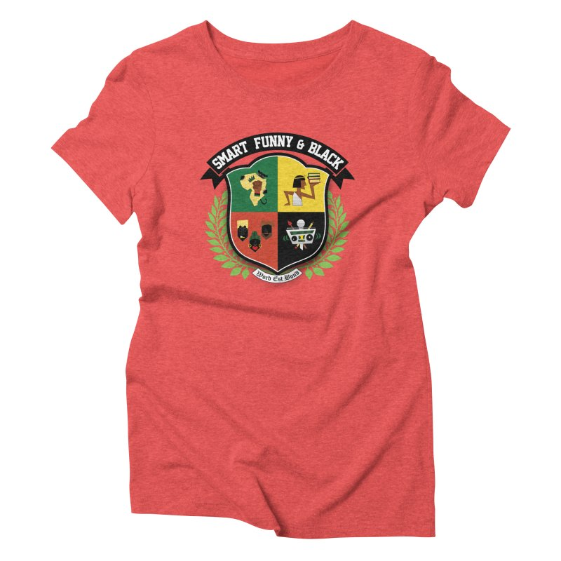 SFB Crest (Black Ink) Women's Triblend T-Shirt by amandaseales's Artist Shop