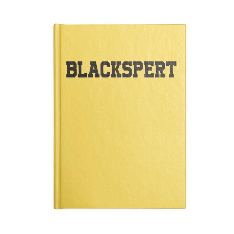 BLACKSPERT (Black Ink) in Blank Journal Notebook by amandaseales's Artist Shop