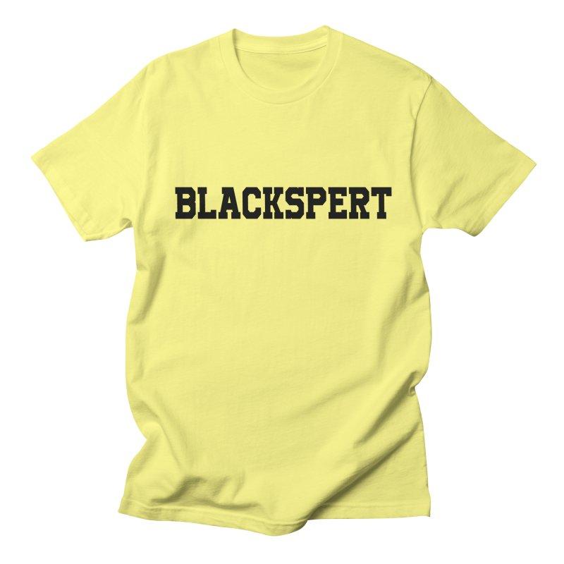 BLACKSPERT (Black Ink) Men's T-Shirt by amandaseales's Artist Shop