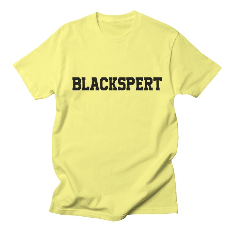BLACKSPERT (Black Ink) Women's Regular Unisex T-Shirt by amandaseales's Artist Shop