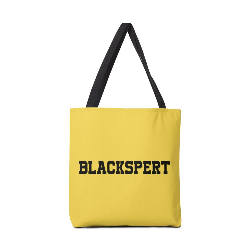 BLACKSPERT (Black Ink) Accessories Bag by amandaseales's Artist Shop