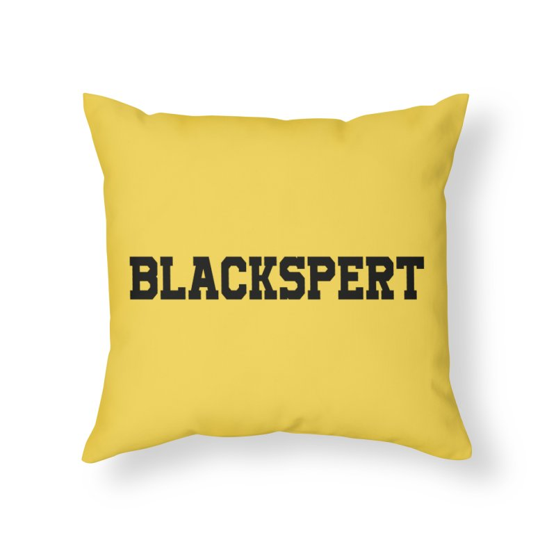 BLACKSPERT (Black Ink) Home Throw Pillow by amandaseales's Artist Shop