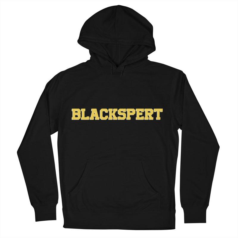 BLACKSPERT (Yellow Ink) Men's Pullover Hoody by amandaseales's Artist Shop