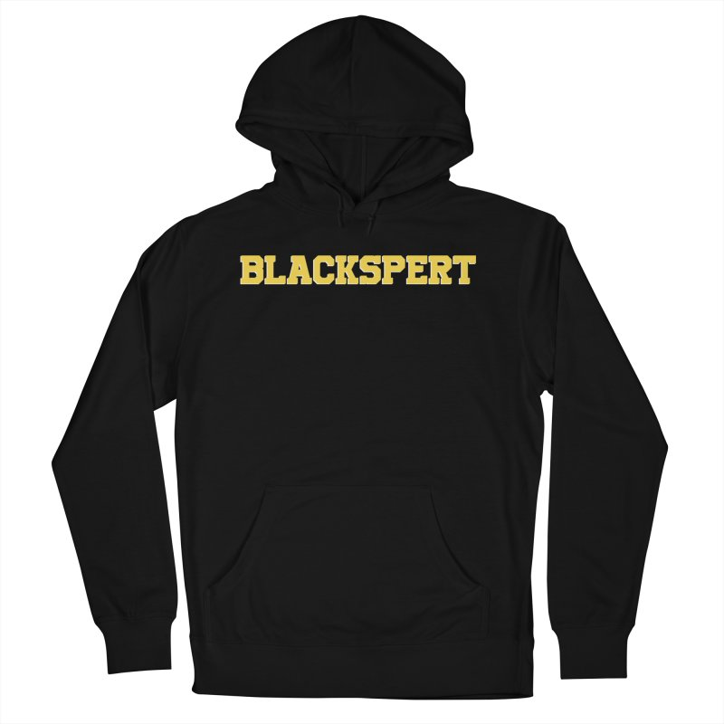 BLACKSPERT (Yellow Ink) Men's Pullover Hoody by amandaseales's Artist Shop
