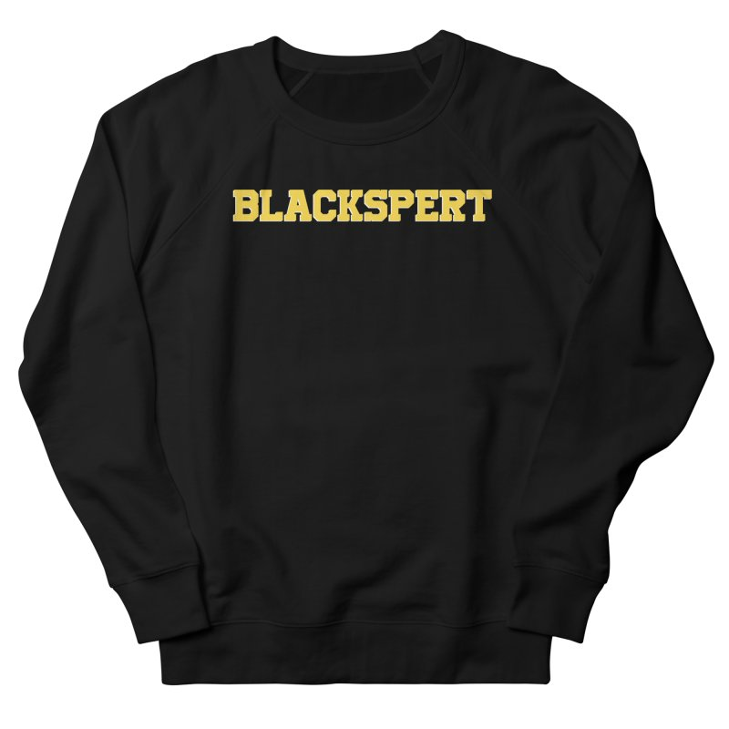 BLACKSPERT (Yellow Ink) Women's French Terry Sweatshirt by amandaseales's Artist Shop