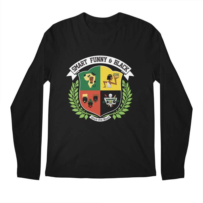 SFB (White Ink) Men's Longsleeve T-Shirt by amandaseales's Artist Shop