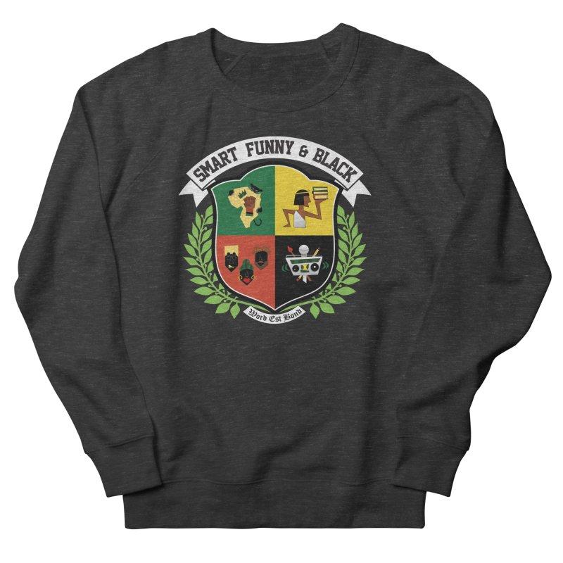 SFB CREST (White Ink) Women's Sweatshirt by Amanda Seales