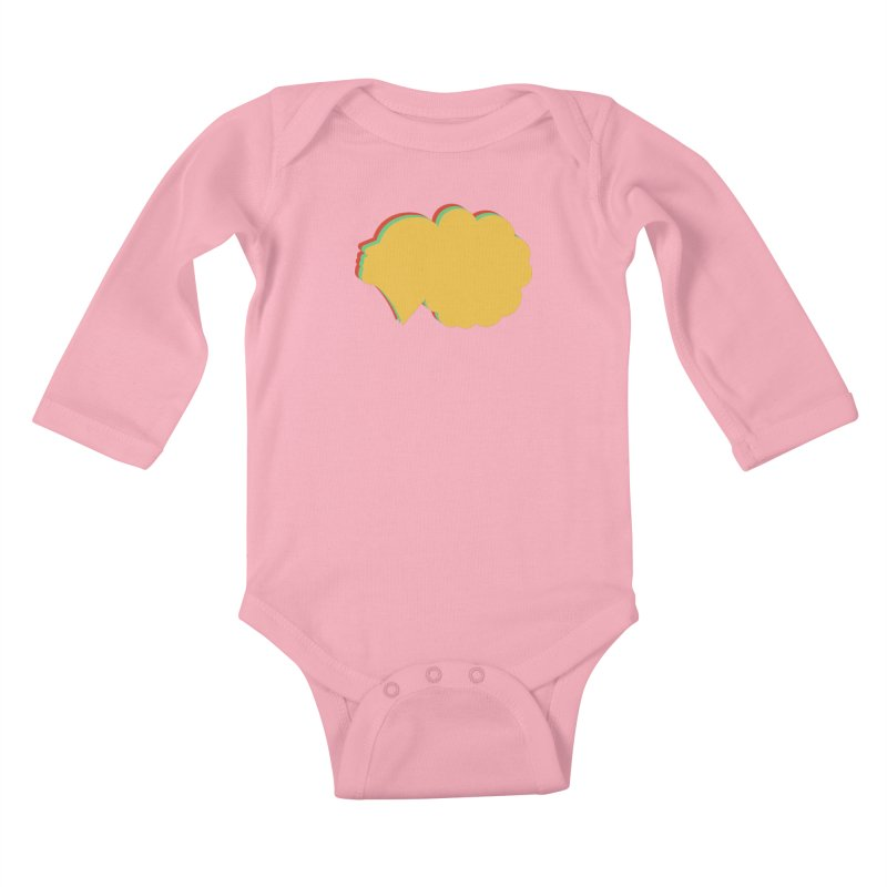 DivaWorks Inc Major! in Kids Baby Longsleeve Bodysuit Light Pink by amandaseales's Artist Shop