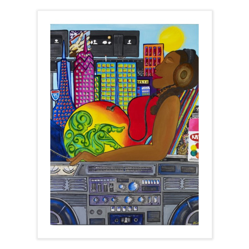 From the Womb to the Boom 2 Home Fine Art Print by amandaseales's Artist Shop