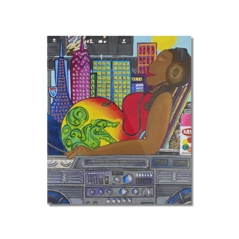 From the Womb to the Boom 2 Home Mounted Acrylic Print by amandaseales's Artist Shop