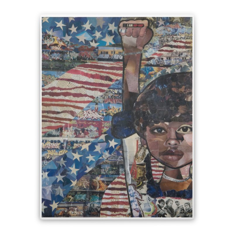 I am Hip Hop Home Stretched Canvas by Amanda Seales