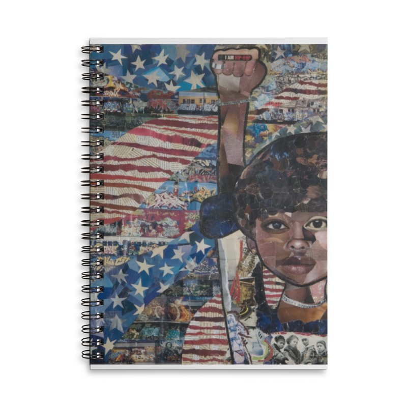 I am Hip Hop Accessories Notebook by Amanda Seales