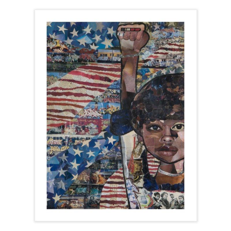 I am Hip Hop Home Fine Art Print by Amanda Seales